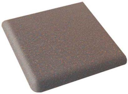 Керамическая плитка Клинкер Morella Cartabon Peldano Fiorentino ступень угловая с носиком 333х333х31мм 1