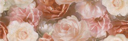 Керамическая плитка Контарини Декор Цветы обрезной STG A590 13032R 30х89