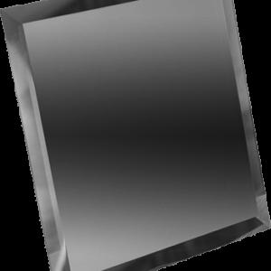 Керамическая плитка Квадратная зеркальная серебряная плитка с фацетом КЗС1-15 15х15