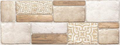 Керамическая плитка Lester Плитка настенная рельефная TWU06LTR034 15х40