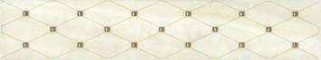 Керамическая плитка Летний сад Бордюр фисташковый AD C288 8261    5