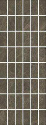 Керамическая плитка Лирия Декор коричневый мозаичный MM15139 15х40