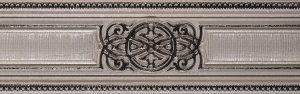 Керамическая плитка Listelo Vesta Grey Бордюр 8x30