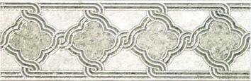 Керамическая плитка Луара Бордюр светлый А1882 11020  9