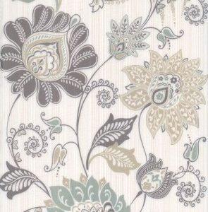 Керамическая плитка Луиза Плитка настенная декор 6234 25х40