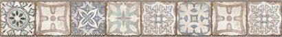 Керамическая плитка Majolica бордюр многоцветный (MA1O452DT) 8x59