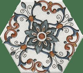 Керамическая плитка Макарена Декор STG A627 24001 20х23