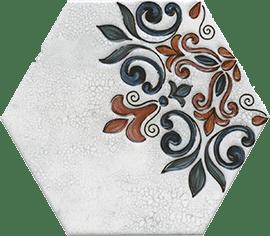 Керамическая плитка Макарена Декор STG A628 24001 20х23