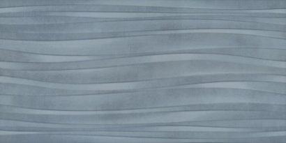 Керамическая плитка Маритимос голубой структура обрезной 11143R 30х60