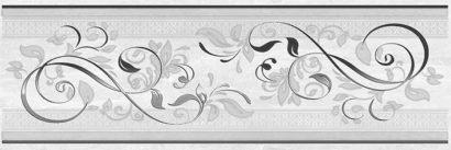 Керамическая плитка Мармара Ажур Декор серый 17-03-06-659 20х60