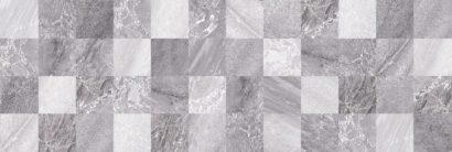 Керамическая плитка Мармара Мозаика серый 17-30-06-616 20х60