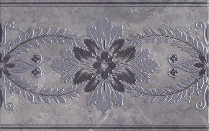 Керамическая плитка Мармион Декор серый MLD D04 6242 25х40