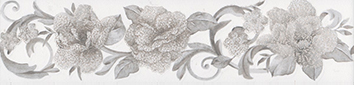 Керамическая плитка Марсо Бордюр белый HGD B274 11120R 7