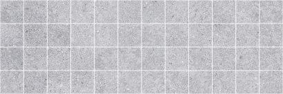 Керамическая плитка Mason Декор мозаичный серый MM60108 20х60
