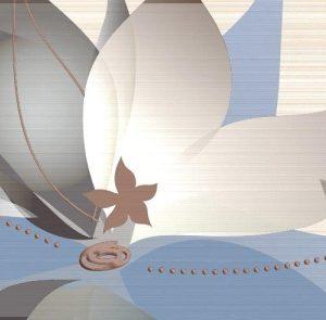 Керамическая плитка Меланж Декор 10-03-11-441-0 50х25 (Вставка декорат.)