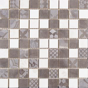 Керамическая плитка Меравиль Мозаика натуральная 1932-0013 30х30
