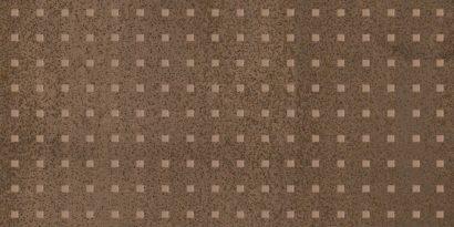 Керамическая плитка Metallica Pixel Декор коричневый 25х50