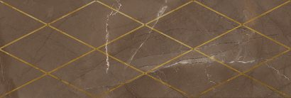 Керамическая плитка Миланезе дизайн Декор Римский марроне 1664-0147 20х60