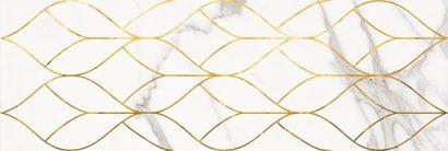 Керамическая плитка Миланезе дизайн Декор Тресс каррара 1664-0156 20х60