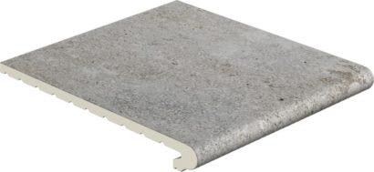Керамическая плитка Mistery Grey P31 ступень проходная 310х317х35 мм 6