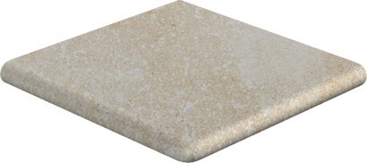 Керамическая плитка Mistery Sand DP1 ступень угловая 317х317х38 мм 3