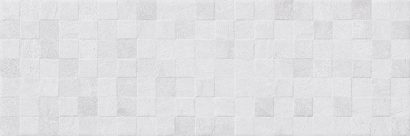 Керамическая плитка Mizar Плитка настенная серый мозаика 17-30-06-1182 20х60