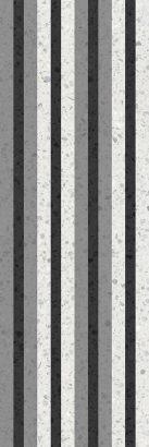 Керамическая плитка Molle black Декор 02 30х90