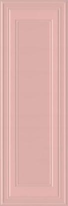Керамическая плитка Монфорте розовый панель обрезной 14007R 40х120