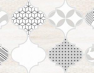 Керамическая плитка Мореска Декор 1 бежевый 1641-8625 20х40