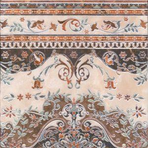 Керамогранит Мраморный дворец Декор ковёр лаппатированный HGD A175 SG1550   40