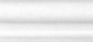 Керамическая плитка Мурано Бордюр Багет белый BLD021 15х3