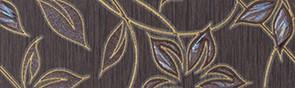 Керамическая плитка Muraya chocolate 01 Бордюр 25х7