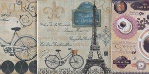 Керамическая плитка Настенная плитка VINTAGE Paris 20x20