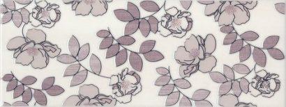 Керамическая плитка Ньюпорт Декор Цветы фиолетовый STG C182 15010 15x40