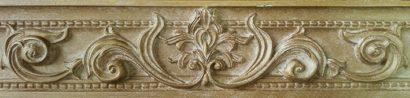 Керамическая плитка Olimpia beige Бордюр 01 6х25