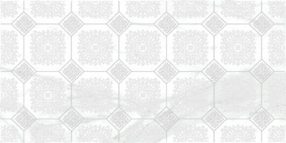 Керамическая плитка Olimpus Grand Декор белый 25х50