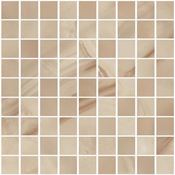 Плитка мозаика Onice Мозаика Коричневый K-97 LR m01 30x30