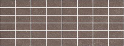Керамическая плитка Орсэ Декор коричневый мозаичный MM15111 15х40