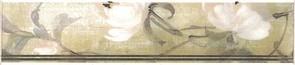 Керамическая плитка Озерный край Бордюр Кувшинки MLD A20 12000 25х5