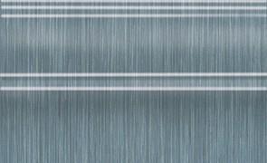 Керамическая плитка Пальмовый лес Плинтус синий FMB018 25x15
