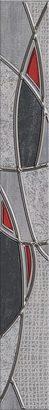 Керамическая плитка Pandora Бордюр Grey Charm 7