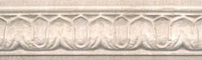 Керамическая плитка Пантеон Бордюр беж BAC002 25х7