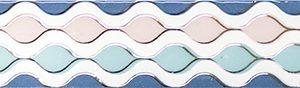 Керамическая плитка Парижанка Бордюр Фантазия 1506-0256 7х60