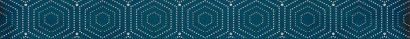 Керамическая плитка Парижанка Бордюр Геометрия 1506-0175 6х60