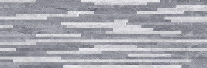 Керамическая плитка Pegas Плитка настенная серый мозаика 17-10-06-1178 20х60