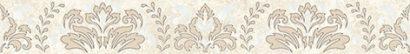 Керамическая плитка Persey Damask Бордюр бежевый 56-03-11-456-3 5х40