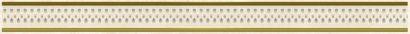 Керамическая плитка Петра Ажур Бордюр бежевый 48-03-11-659 4х60
