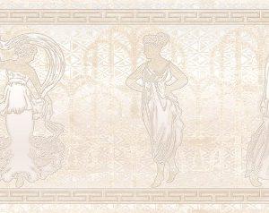 Керамическая плитка Петра Олимп Декор бежевый 17-03-11-660 20х60