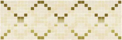 Керамическая плитка Петра Паттерн Декор бежевый 17-03-11-616 20х60