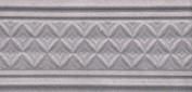 Керамическая плитка Пикарди Бордюр структура сиреневый LAA005 15х6